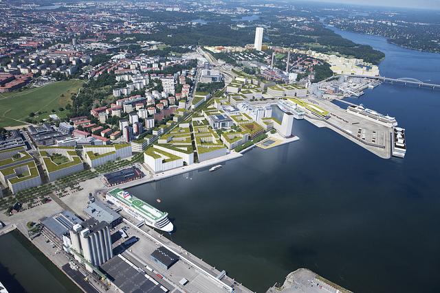 Norra Djurgårdsstaden ‒ eines von vielen großen Wohnungsbauprojekten in Schwedens Hauptstadt