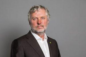 Porträt des schwedischen Ministers Peter Eriksson