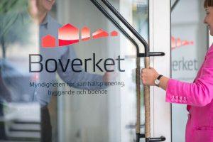 Eingangstür des Boverket