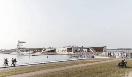 Ansicht des Erlebniszentrums Vestre Fjordpark