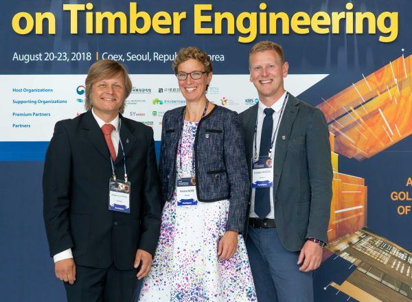 Anders Q. Nyrud, Kristine Nore und Krister Moen