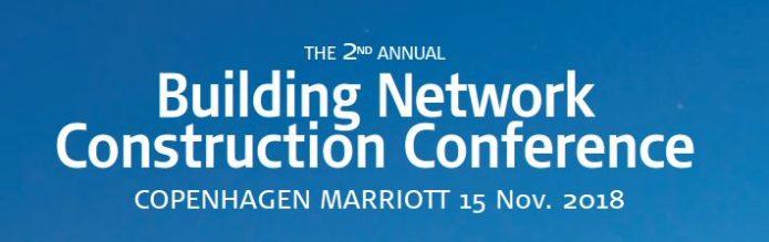 Banner der Building Network Construction Conference 2018