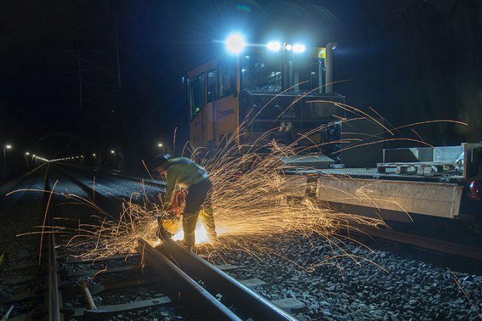 Instahdhaltung von Schienen in Norwegen