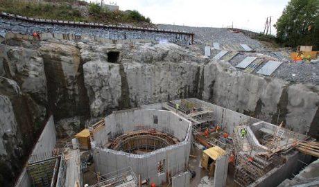 Bild der Generatorgrube