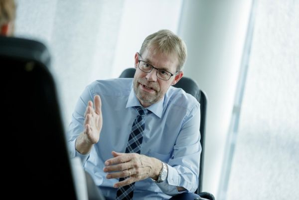 Porträt von Lars-Peter Søbye