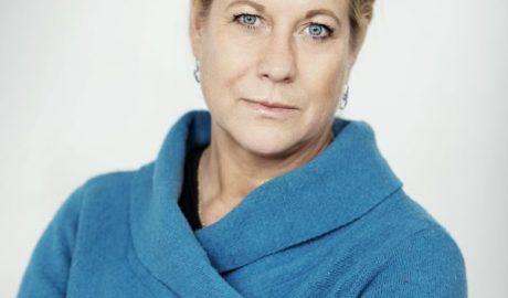 Porträt der Vorsitzenden des Branchenverbands Byggföretagen Catharina Elmsäter-Svärd