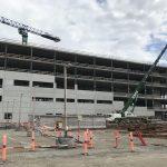 Baustelle des Neuen Universitätskrankenhauses Odense