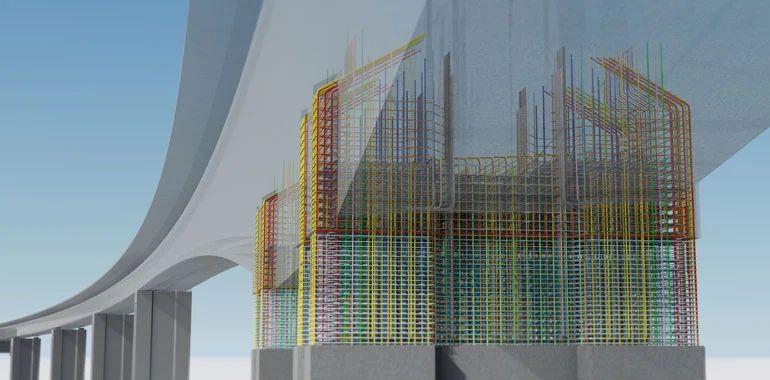Illustration des BIM-Modells der Randselva-Brücke