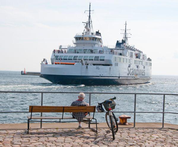 Fähre zwischen Helsingborg und Helsingør
