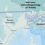 Illustration der neuen Wasserversorgung Oslo